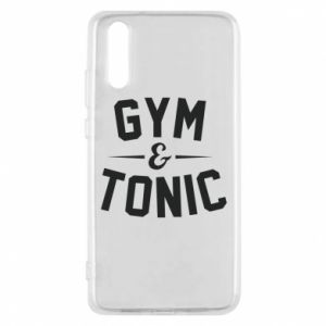 Etui na Huawei P20 Gym and tonic