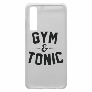 Etui na Huawei P30 Gym and tonic