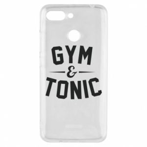 Etui na Xiaomi Redmi 6 Gym and tonic