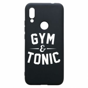 Etui na Xiaomi Redmi 7 Gym and tonic