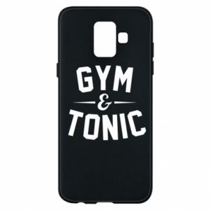 Etui na Samsung A6 2018 Gym and tonic