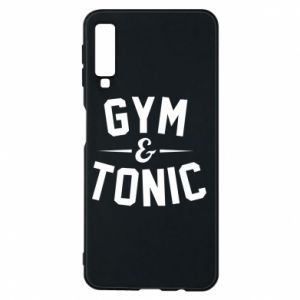 Etui na Samsung A7 2018 Gym and tonic
