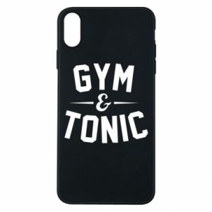 Etui na iPhone Xs Max Gym and tonic
