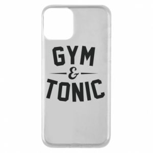Etui na iPhone 11 Gym and tonic