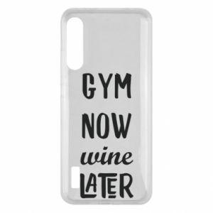 Xiaomi Mi A3 Case Gym Now Wine Later