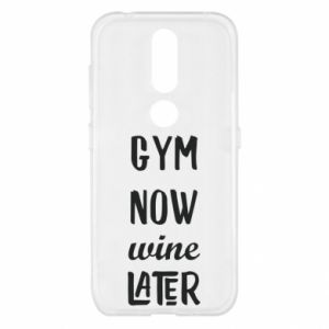 Nokia 4.2 Case Gym Now Wine Later