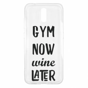 Nokia 2.3 Case Gym Now Wine Later