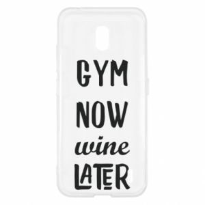 Nokia 2.2 Case Gym Now Wine Later