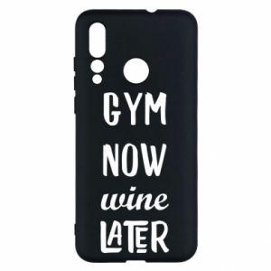 Huawei Nova 4 Case Gym Now Wine Later