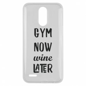 Lg K10 2017 Case Gym Now Wine Later