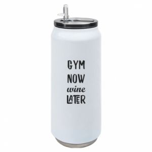 Thermal bank Gym Now Wine Later