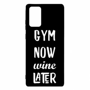 Samsung Note 20 Case Gym Now Wine Later