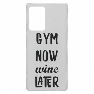Samsung Note 20 Ultra Case Gym Now Wine Later