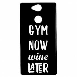 Sony Xperia XA2 Case Gym Now Wine Later