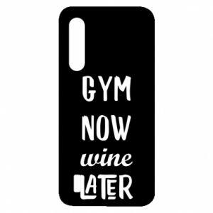 Xiaomi Mi9 Lite Case Gym Now Wine Later
