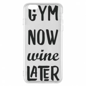 Etui na iPhone 6 Plus/6S Plus Gym Now Wine Later
