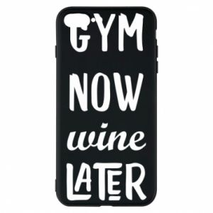 Etui na iPhone 8 Plus Gym Now Wine Later