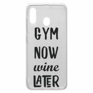 Etui na Samsung A30 Gym Now Wine Later