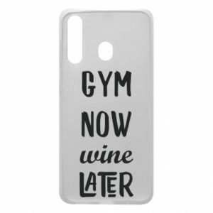 Etui na Samsung A60 Gym Now Wine Later