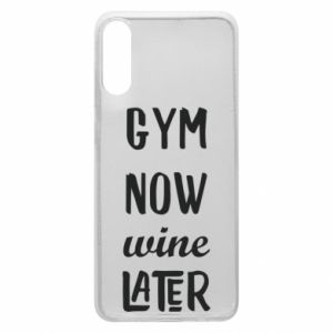 Etui na Samsung A70 Gym Now Wine Later
