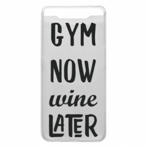 Etui na Samsung A80 Gym Now Wine Later