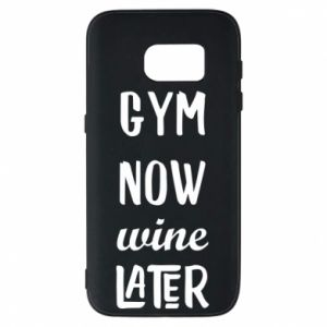 Etui na Samsung S7 Gym Now Wine Later