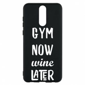 Etui na Huawei Mate 10 Lite Gym Now Wine Later