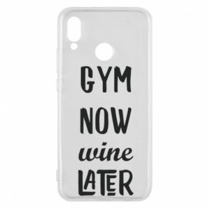 Etui na Huawei P20 Lite Gym Now Wine Later