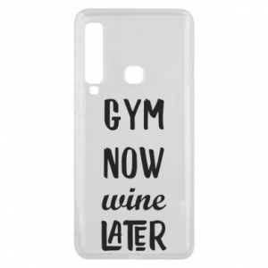 Etui na Samsung A9 2018 Gym Now Wine Later