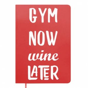 Notes Gym Now Wine Later - PrintSalon