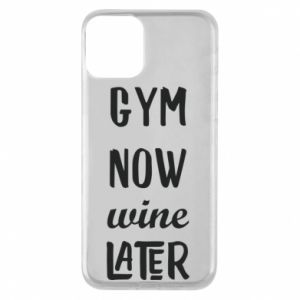 Etui na iPhone 11 Gym Now Wine Later - PrintSalon