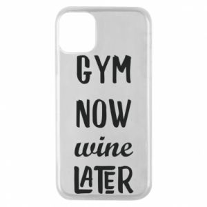 Etui na iPhone 11 Pro Gym Now Wine Later