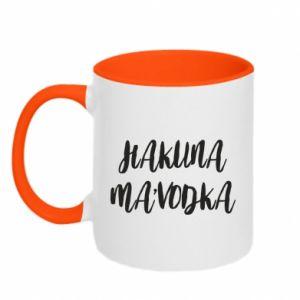 Kubek dwukolorowy Hakuna ma'vodka