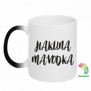 Kubek-kameleon Hakuna ma'vodka