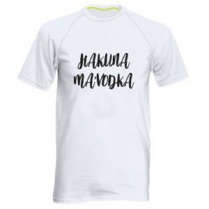 Męska koszulka sportowa Hakuna ma'vodka