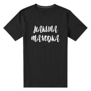 Men's premium t-shirt Hakuna ma'vodka
