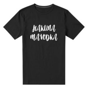 Męska premium koszulka Hakuna ma'vodka