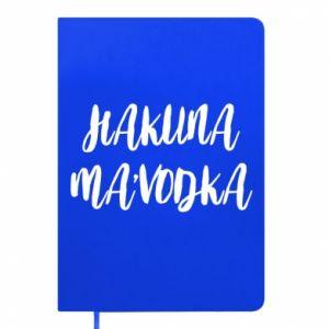 Notepad Hakuna ma'vodka