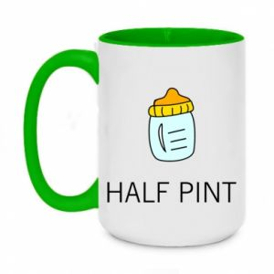 Two-toned mug 450ml Half pint