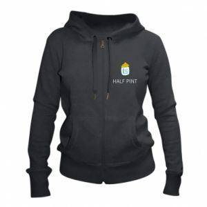 Women's zip up hoodies Half pint