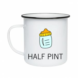 Enameled mug Half pint