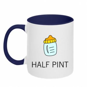 Two-toned mug Half pint