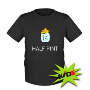 Kids T-shirt Half pint