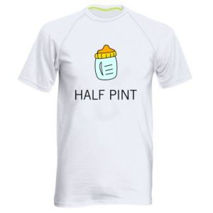 Men's sports t-shirt Half pint