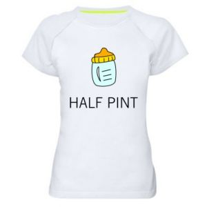 Women's sports t-shirt Half pint