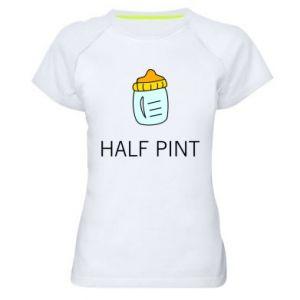 Koszulka sportowa damska Half pint
