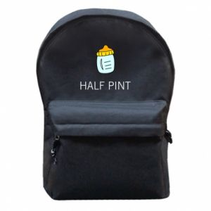 Backpack with front pocket Half pint
