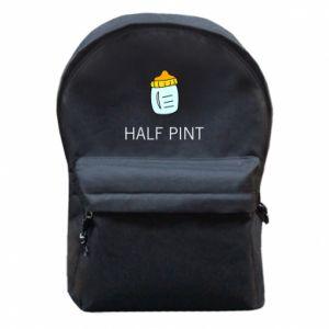 Plecak z przednią kieszenią Half pint