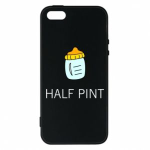 Phone case for iPhone 5/5S/SE Half pint