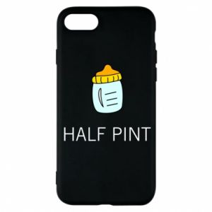 Phone case for iPhone 7 Half pint
